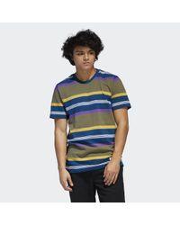 Adidas Originals Grover Piqué T-shirt in het Multicolor voor heren