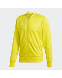 Chaqueta Condivo 18 Adidas de hombre de color Yellow