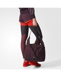 Adidas - Red Gym Bag - Lyst