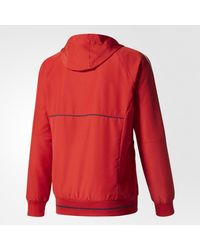 Adidas - Red Fc Bayern Munich Presentation Jacket for Men - Lyst