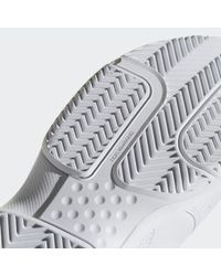 Adidas White Approach Shoes for men