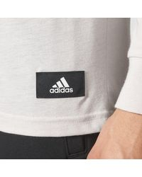 Adidas - Gray Id Tee for Men - Lyst