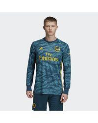 Adidas Green Arsenal Home Goalkeeper Jersey for men