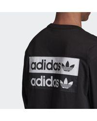 T-shirt R.Y.V. Adidas pour homme en coloris Black