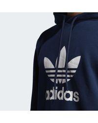 Adidas Trefoil Hoodie in Blue für Herren