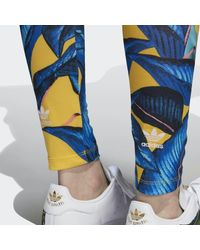 Adidas Blue Leggings