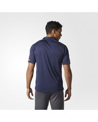 Adidas - Blue Predators Pro Locker Room Polo Shirt for Men - Lyst