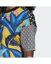 Adidas Blue Tee Dress Kniited Tank Top