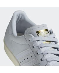 Adidas Blue Superstar 80s Shoes
