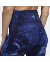 Tight 7/8 Believe This Parley Adidas en coloris Blue