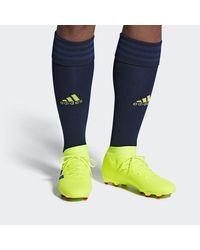 Adidas Originals Yellow Exhibit Nemeziz 18.3 FG Herren