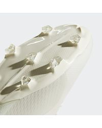 Adidas White X 18.2 Firm Ground Cleats for men