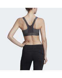 Brassière Post-Mastectomy Adidas en coloris Gray