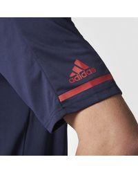 Adidas - Blue Canadiens Pro Locker Room Polo Shirt for Men - Lyst