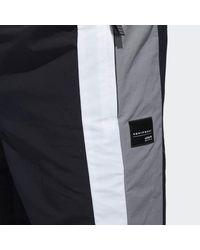Adidas Black Eqt Block Windbreaker Pants for men