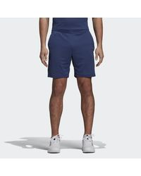 Adidas Blue Climachill Shorts for men