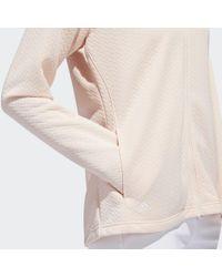 Adidas Pink Textured Layer Jacke