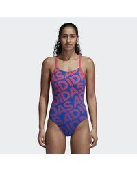 Adidas Multicolor Pro Graphic Swimsuit