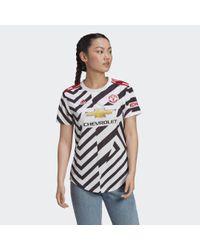 Adidas Manchester United 20/21 Derde Shirt in het White