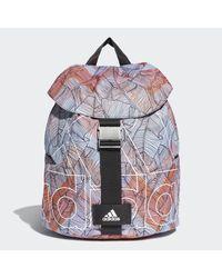 Adidas Blue Flap Backpack