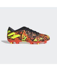Chaussure Nemeziz Messi.3 Terrain souple Adidas en coloris Red