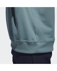Adidas Green Classic Club Sweatshirt for men