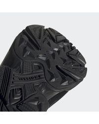 Scarpe Yung-96 Chasm di Adidas in Black da Uomo