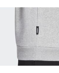 Adidas Badge of Sport Fleece Sweatshirt in Gray für Herren