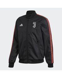 Chaqueta Himno Juventus Adidas de hombre de color Black
