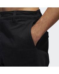 Adidas Black Chino Pants for men