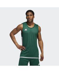 Adidas Green 3g Speed Reversible Jersey for men