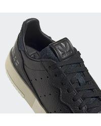 Adidas Supercourt Schoenen in het Black