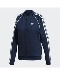 Adidas Blue Sst Track Jacket