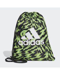 Adidas Green Gym Sack