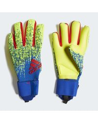Adidas Yellow Predator Pro Gloves