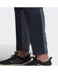 Adidas Fabric Mix Trainingsanzug in Blue für Herren
