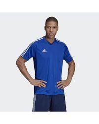 Adidas Blue Tiro 19 Training Jersey for men