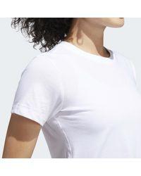 T-shirt Go-To Adidas en coloris White