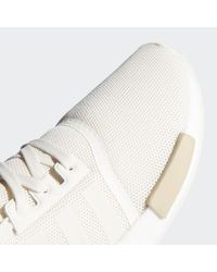 Adidas White Nmd_r1 Shoes