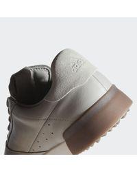 Zapatilla de golf Adicross Retro Adidas de hombre de color Gray