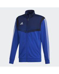 Adidas Tiro 19 Polyester Jacke in Blue für Herren