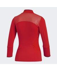 Adidas Red By Stella Mccartney Barricade 3/4 Tee