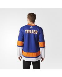 Adidas - White Islanders Home Authentic Pro Jersey for Men - Lyst