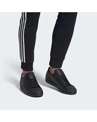 Chaussure Superstar. Adidas en coloris Black