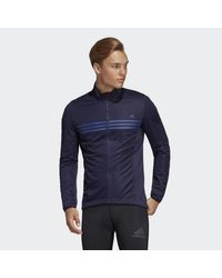 Giacca Warmtefront di Adidas in Blue da Uomo