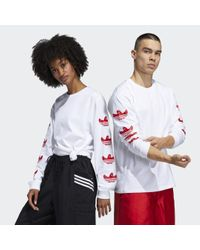 Maglia Long Sleeve Shmoo (Unisex) di Adidas in White