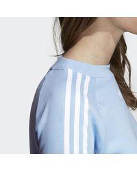 Adidas Blue Trefoil Sweatshirt