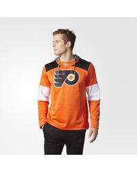 Adidas - Orange Flyers Jersey Replica Pullover Hoodie for Men - Lyst