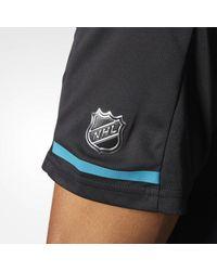 Adidas - Black Sharks Pro Locker Room Polo Shirt for Men - Lyst