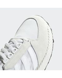 Adidas White Forest Grove Shoes for men